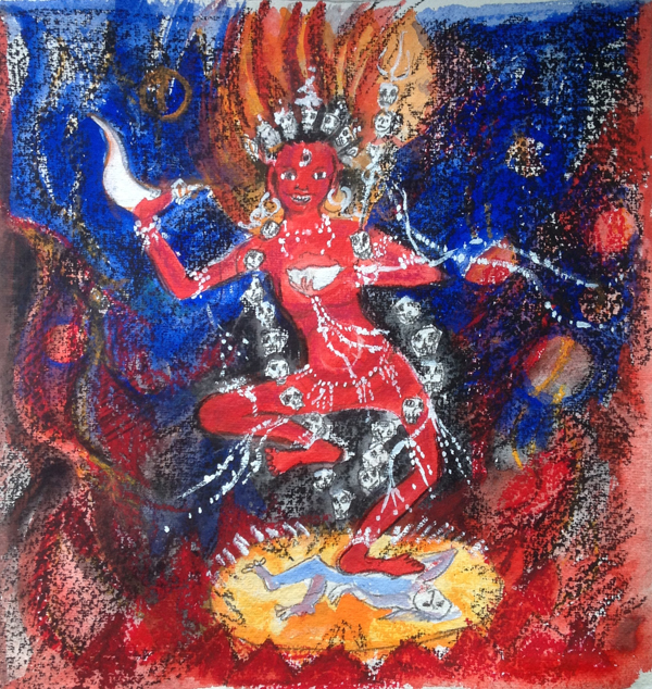 Buddhist Pictures | Visuddhimati / Janet Piésold | Dakinis